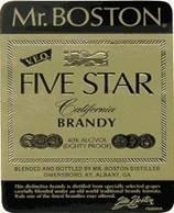 Mr. Boston 5 Star Brandy
